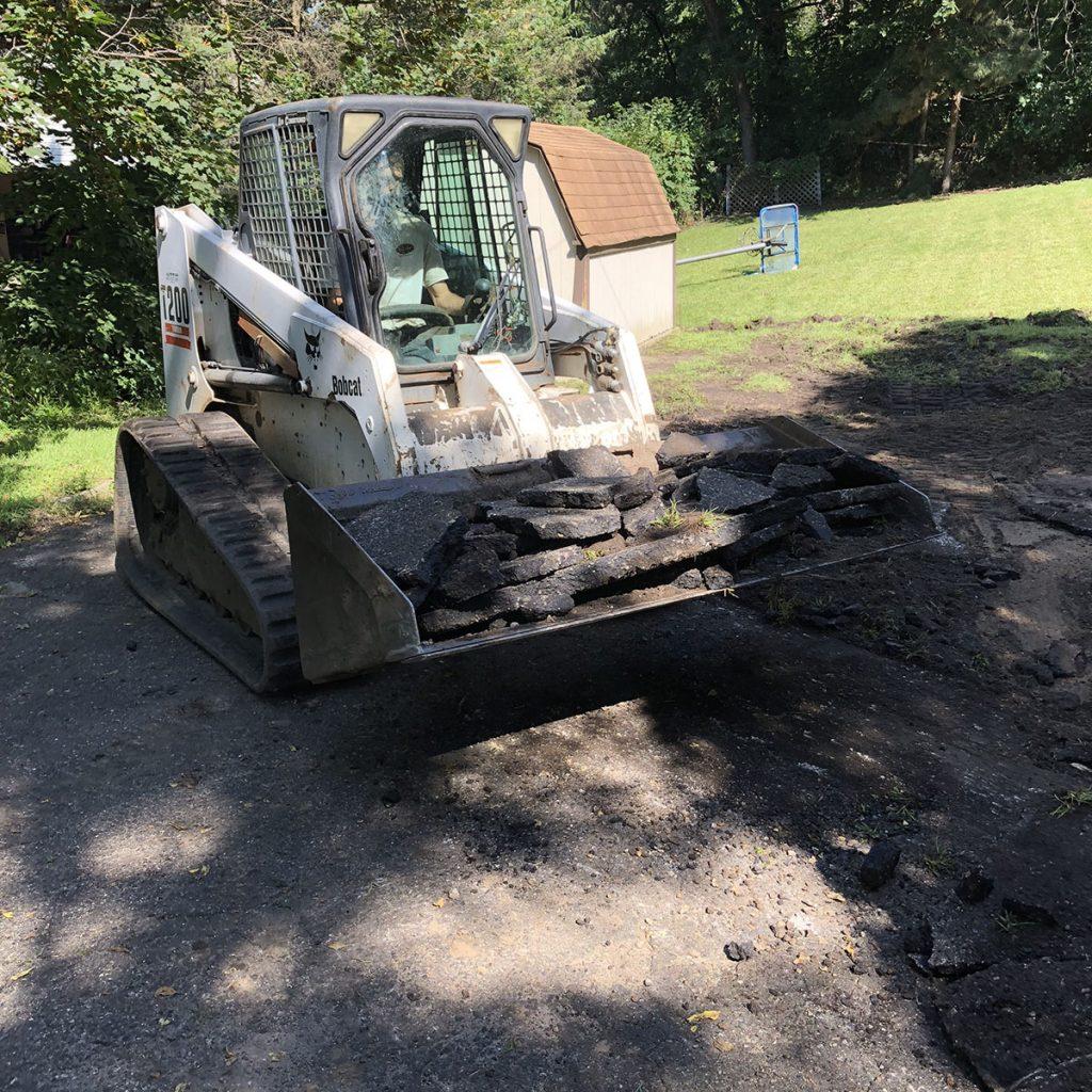 A) residential asphalt removal2-crop