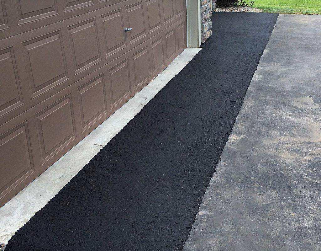 apron asphalt repair