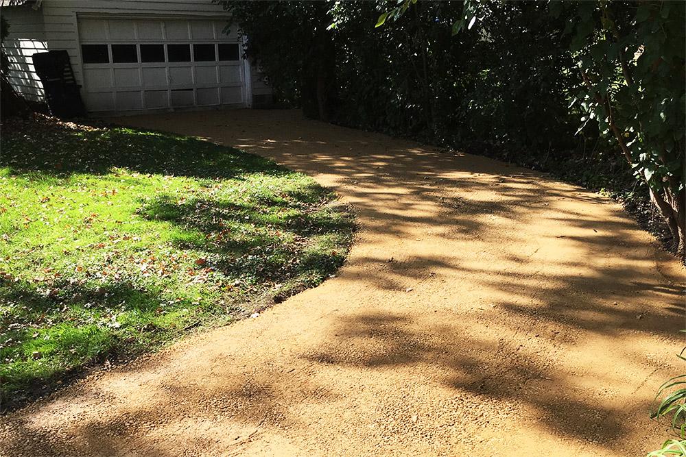 Gravel Driveway newly laid